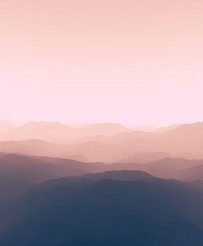 Prachtige bergen 10 van Angel Estevez