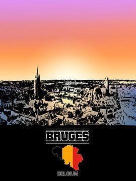 Bruges sur Printed Artings