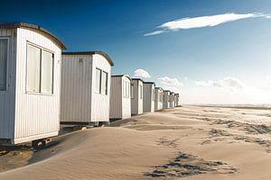 Strandhütten in Løkken von Florian Kunde