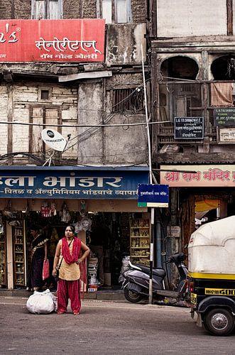 Straatbeeld Pune, India