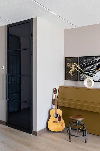 Kundenfoto: Mädchen am Klavier, Jacob Maris