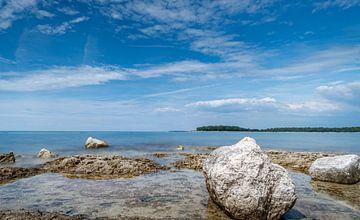 Adriatische Zee van Johan Vet