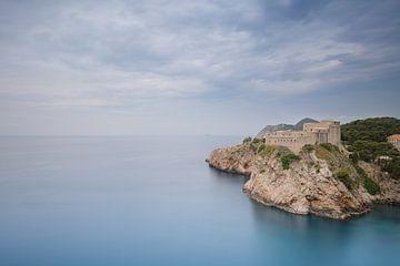 Uitzicht over Dubrovnik van Kristof Ven