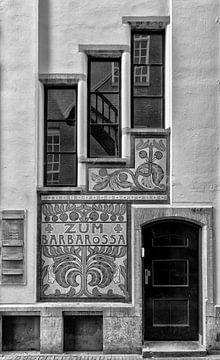 Helios-Gebäude in der Voetboogstraat in Amsterdam. von Don Fonzarelli