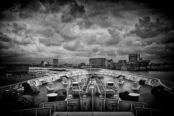Cruiseschip SS Rotterdam van Saskia Staal