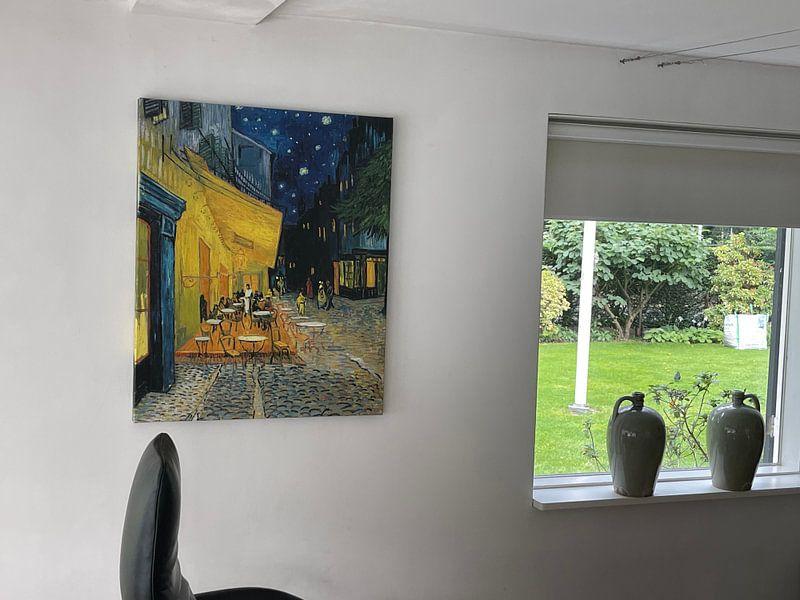 Kundenfoto: Caféterrasse am Abend (Vincent van Gogh)