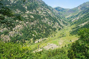 Vallei in Andorra  von Peter Apers