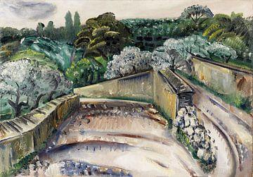Landschaft in Südfrankreich (Regentag in Cassis), PAUL KLEINSCHMIDT, 1930 von Atelier Liesjes
