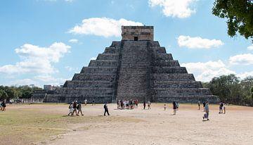 Chichén Itzá van