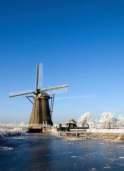 Hollandse molen van Thijs Schouten