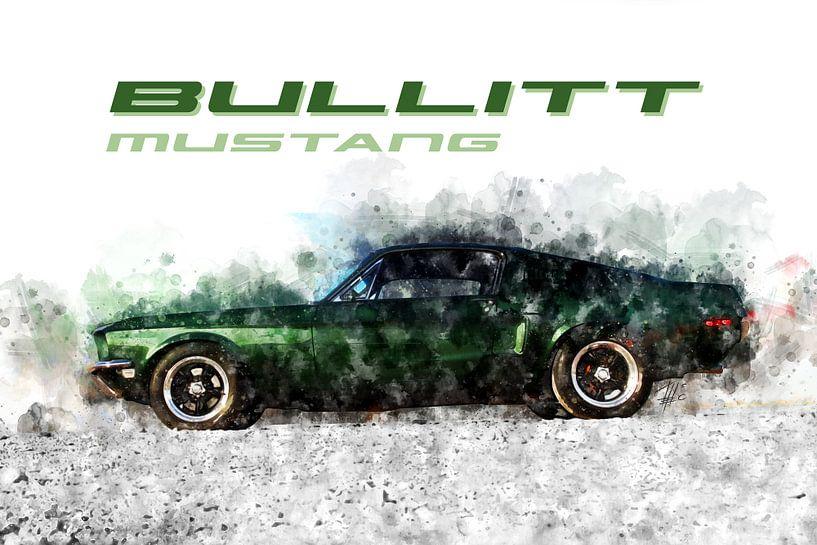 Bullitt Mustang von Theodor Decker