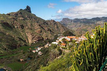 Tejeda Gran Canaria, Canarische Eilanden van Peter Schickert