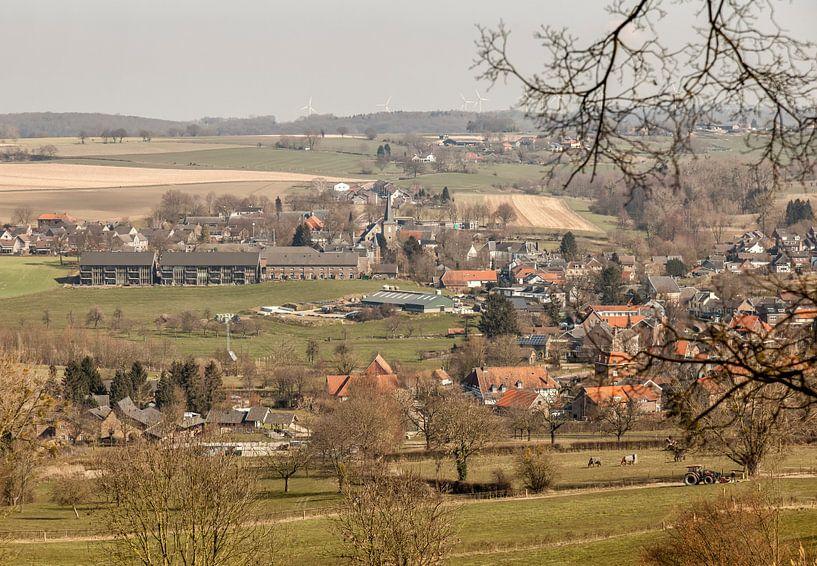 Panorama Mechelen in Zuid-Limburg van John Kreukniet