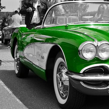 Corvette C1 Green van Titus Dingjan