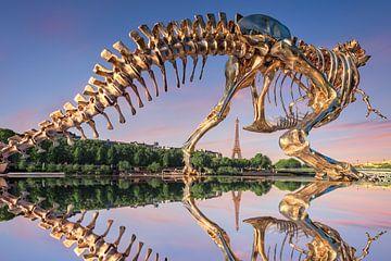 Le T-Rex sur Arnaud Bertrande