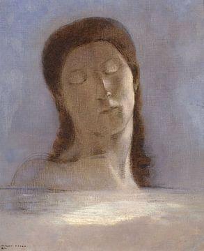 Gesloten ogen, Odilon Redon