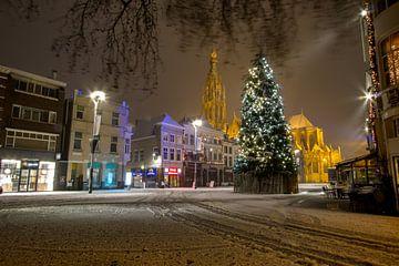 Breda: Sneeuw tijdens kerstmis van Martijn Mureau