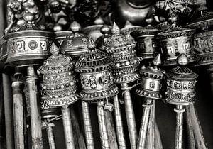 Gebedsmolens Nepal Kathmandu