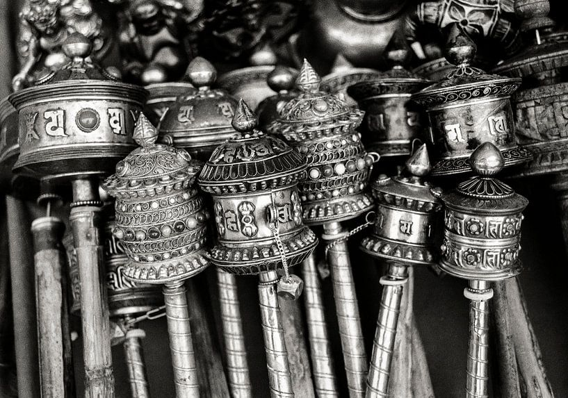 Gebedsmolens Nepal Kathmandu van JPWFoto
