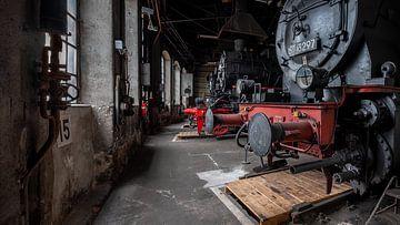 Zug-Werkstatt von Frans Nijland