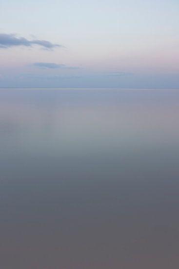 Spiegel van pasteltinten - Ionische zee