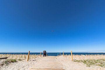 Naar het strand in Glowe op het eiland Rügen, Schaabe van GH Foto & Artdesign