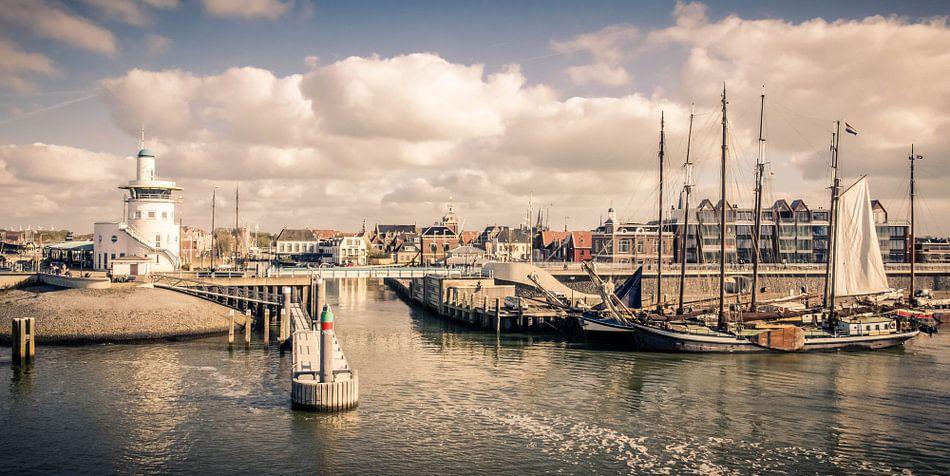 De haven van Harlingen