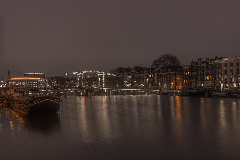 Magere Brug Amsterdam Ophaalbrug van Klaas Doting