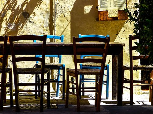 Italian chairs and table