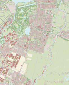 Kaart vanAmstelveen van