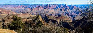 Panorama Grand Canyon, vanaf de south rim gezien