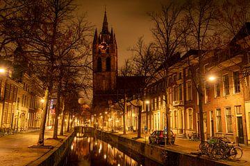 Die alte Kirche in Delft