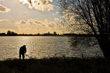 Visser langs de Rijn van Peter van der Burg