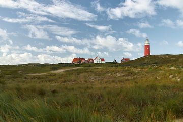 Vuurtoren Eierland van Ad Jekel