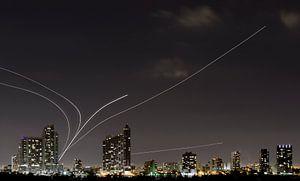 Vliegtuigen Verlaten Miami van