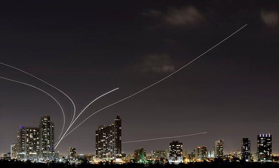 Vliegtuigen Verlaten Miami van Mark den Hartog