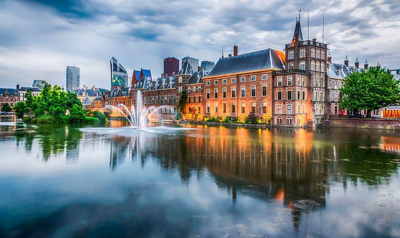 Binnenhofvijver Den Haag van Rien van Bodegom