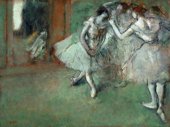 Edgar Degas. A Group of Dancers