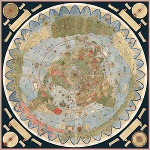 Tavola 1-60. Wereldkaart van