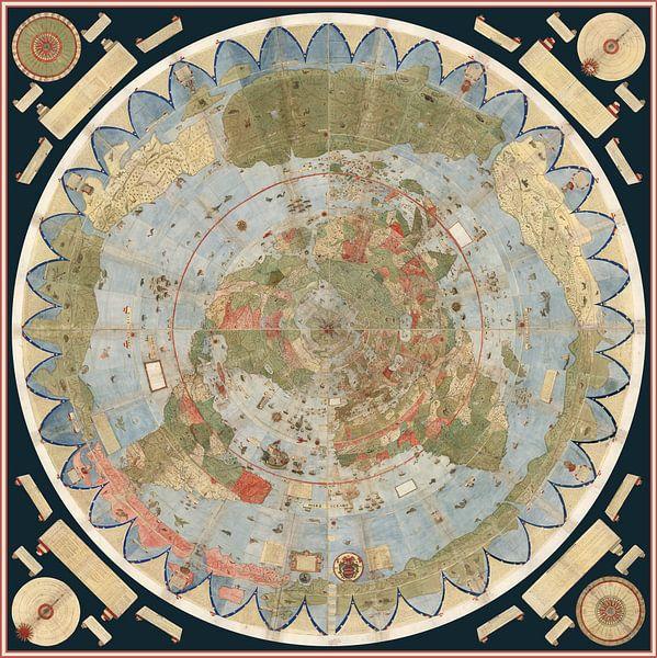 Tavola 1-60. Carte du monde sur World Maps