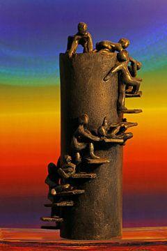 Levenslooptoren; ups en downs, tel jouw zegeningen ! van Wim Bodewes