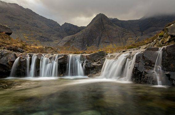 Fairy pools, Isle of Skye van Jos Pannekoek