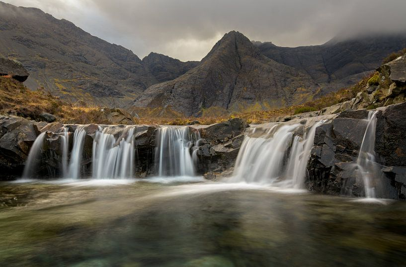 Fairy pools, Isle of Skye Schotland van Jos Pannekoek