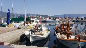 Haven in Lesbos van