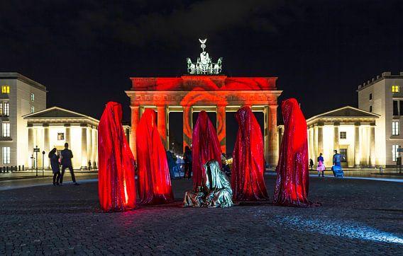 Brandenburger Tor Berlin in een bijzonder licht