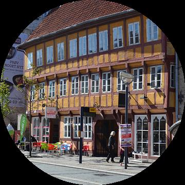 stadsgezicht in Aarhus denemarken van tiny brok