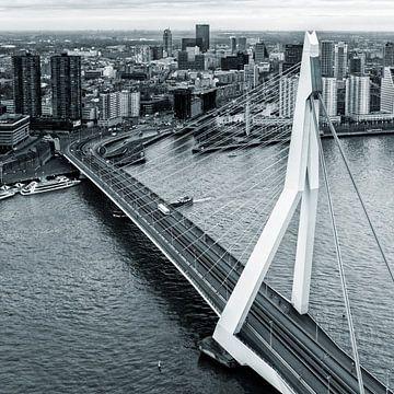 Rotterdam aus dem 44. Stockwerk sur Rob van der Teen