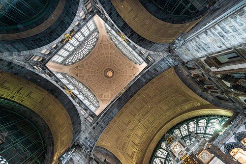 stationplafond symetrie van