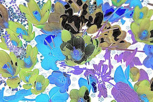 Creatieve bloemen van