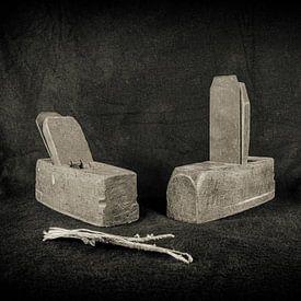 Outils à main anciens sur Roland de Zeeuw fotografie